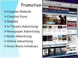 cineplex online case study on the cineplex entertainment