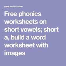 the 25 best free phonics worksheets ideas on pinterest phonics