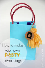 party favor bags diy gift bag tutorial
