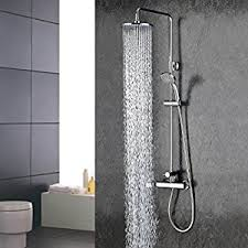 Contemporary Faucets Bathroom by Wall Mount Contemporary Chrome Finish Rainfall Shower Faucet