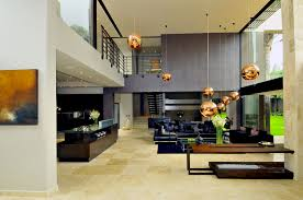 luxury white interior loft house decor with white dominated the
