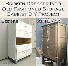 Turning Dresser Into Bookshelf Best 25 Broken Dresser Ideas On Pinterest Diy Storage Dresser