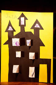 Halloween Arts Crafts by 9 Best Cute Art Activities On Haunted Houses For Kids Images On