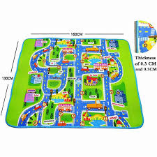 road carpets for children rug puzzle play mat for children baby