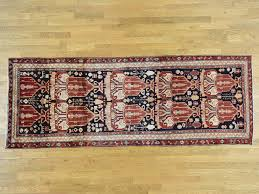 Wide Runner Rug 4 2 X11 4 Knotted Semi Antique Hamadan Wide Runner