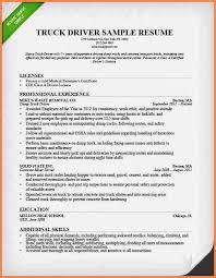 truck driver resume sample resume for truck driver resume for truck driver truck driver