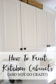 how to paint kitchen cabinets without streaks how to paint cabinet doors without brush marks 2021