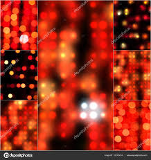 Retro Christmas Lights by Blur Abstract Background Bokeh Effect In Red Color Blurred Light