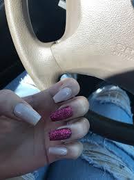 cute glitter nails nails glitter acrylic nails burgundy nails