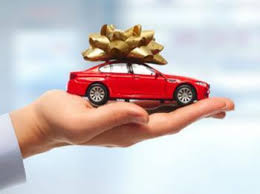new car gift bow most americans can t afford a new car study finds