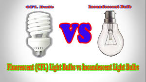 Led Versus Fluorescent Light Bulbs by Fluorescent Cfl Light Bulbs Vs Incandescent Light Bulbs Cfl