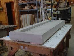 concrete sink the possibilities are endless