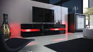 meuble tv cuisine meuble tv laque blanc led pas cher 4 meuble cuisine noir laqu