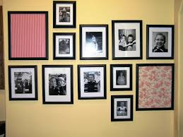 wall ideas 26 same size gallery wall ideas cover picture frame