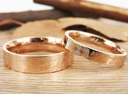 marriage rings images images Handmade your marriage vow signature rings wedding rings rosa gold jpg