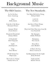 songs played at weddings 20 more jazz standards for your dinner playlist can also