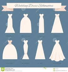 wedding dress type wedding dress style stock illustration image 44196115