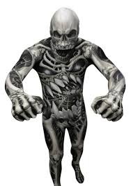 Skeleton Halloween Costume Kids Kid U0027s Skull And Bones Skeleton Morphsuit