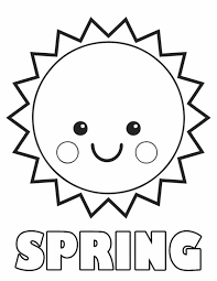 nice spring coloring pages printable inspiring 168 unknown