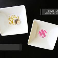 monogrammed dishes best monogram dishes products on wanelo