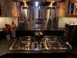 Best Backsplash Images On Pinterest Backsplash Ideas Kitchen - Stainless steel cooktop backsplash