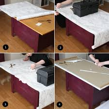 the interior diyer diy friday contact paper table top