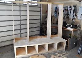 Free Wooden Garage Shelf Plans by Best 25 Garage Lockers Ideas On Pinterest Garage Entry Garage