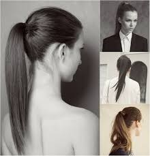 ponytail hair 5 one minute basic ponytail hairstyles tutorial for daily style
