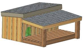 Dog House Floor Plans Insulated Dog House Plans 15 Total Large Dog With Covered Porch