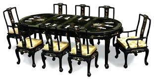 black lacquer dining room chairs asian dining room chairs dining room sleek inspired dining rooms for