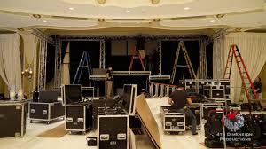 custom stage production beverly hills hotel crystal ballroom