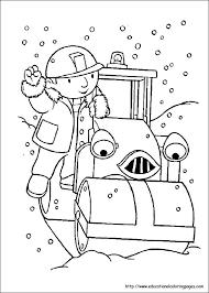 kids fun 87 coloring pages bob builder bob builder