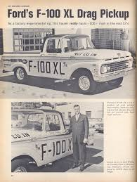 Old Ford Truck Drag Racing - f 100 xl drag pickup