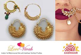 nose ring is not just an ornament but more a cultural affair