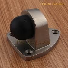 aliexpress com buy zinc alloy triangular door stops floor