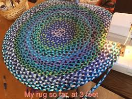 Crochet Doormat Make A Braided T Shirt Rug 5 Steps With Pictures