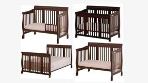 Convertible 4 In 1 Cribs Convertible Cribs Rustic Bedroom Baby Mod Ikea Stork Craft