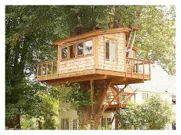 no tree treehouse plans