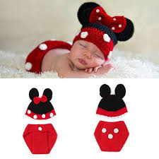 photography props crochet baby boy costume knitted newborn