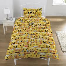 Toy Story Cot Bed Duvet Set Emoji Smiley Faces Duvet Cover Set Available Single U0026 Double