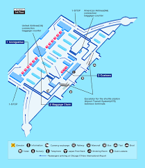 Chicago Ord Airport Map by Airport Guide International At The Airport In Flight