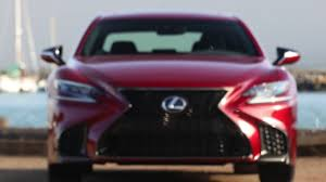 lexus is f sport 2018 2018 lexus ls 500 f sport exterior design in matador red youtube