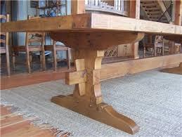 Farmhouse Trestle Table Help - Trestle table design