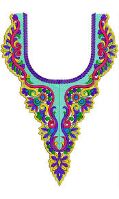 machine embroidery designs for neck