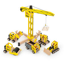buy small world wooden construction site set tts