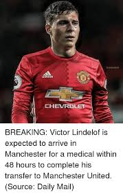 Chevrolet Memes - adidas chevrolet teamggmu breaking victor lindelof is expected to