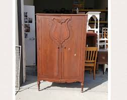 Farmhouse Armoire Armoire Etsy