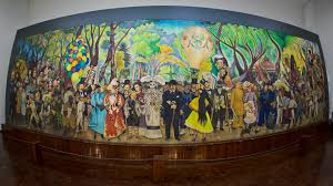 Diego Rivera Rockefeller Center Mural Controversy by From Xico Art