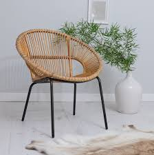wicker chair for bedroom our natural bamboo chair has been woven to create a modern look