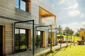 Buro Einrichtung Beton Holz Backstein Beton Holz U2013 Idealbau Ag U2013 Die Architekten